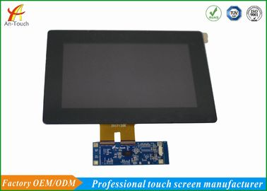 China Kras Bestand LCD CTP de Uitrustings800x480 Landschap van de Touch screenbekleding fabriek