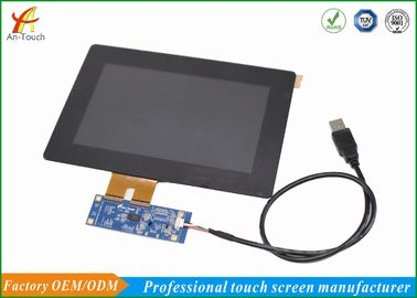 Geïntegreerd LCD CTP Touch screen, 7 Lcd Touch screencomité 12 Maandgarantie