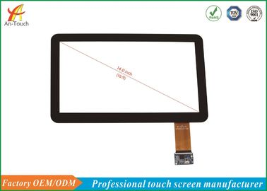 China Interactief USB-Touch screen 14 Duimilitek 2511 IC Controlemechanisme, 1.1mm Dekkingslens fabriek