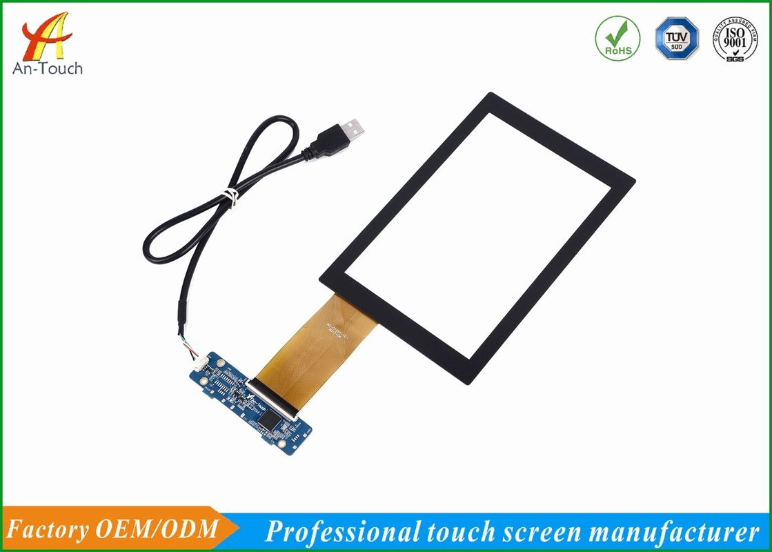 High Sensitive Car Touch Panel With Usb , Capacitive 7 Inch Touch Screen