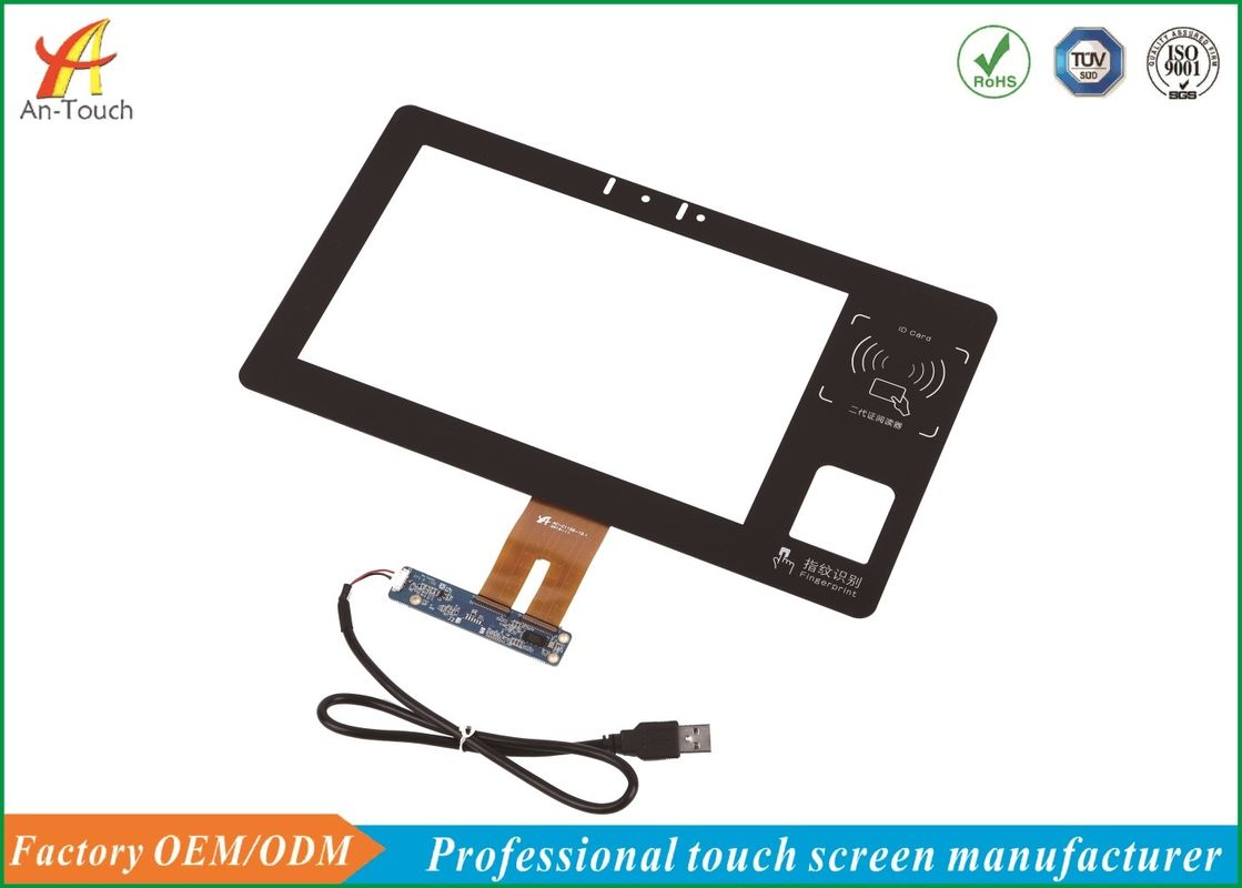 10.1 capacitief Touch screen, Industrie-Aanrakingscomité Vertoning 0.7mm ITO-Glas leverancier