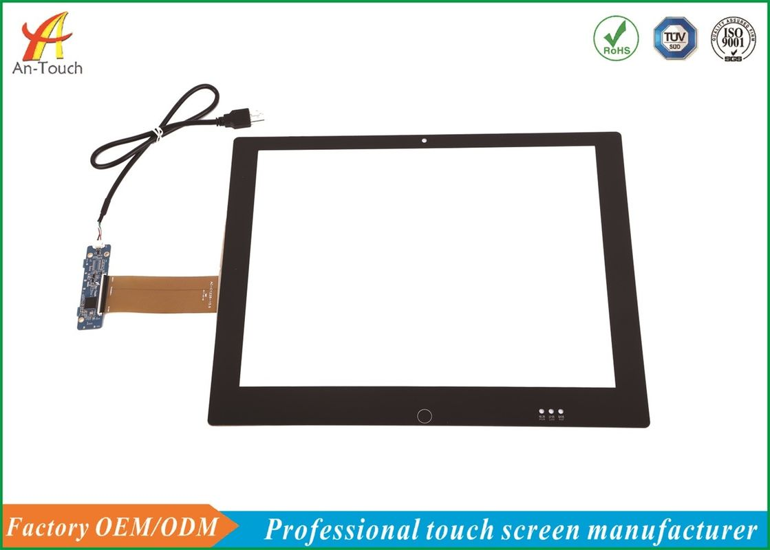 Smooth Touch Windows Touch Panel , 15 Inch Touch Screen Overlay For Monitor