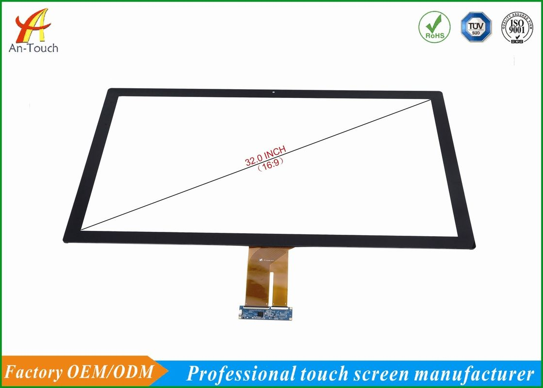 2mm Front Glass Big Touch Panel 32 Inch Anti Explosion For Gaming Machine