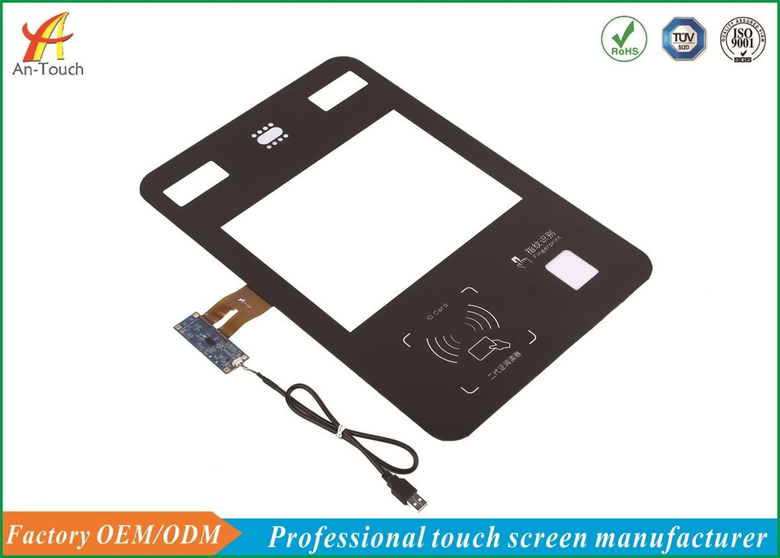 COB CTP Type Waterproof Touch Panel 12.1 Inch For Industrial Touch Equipment