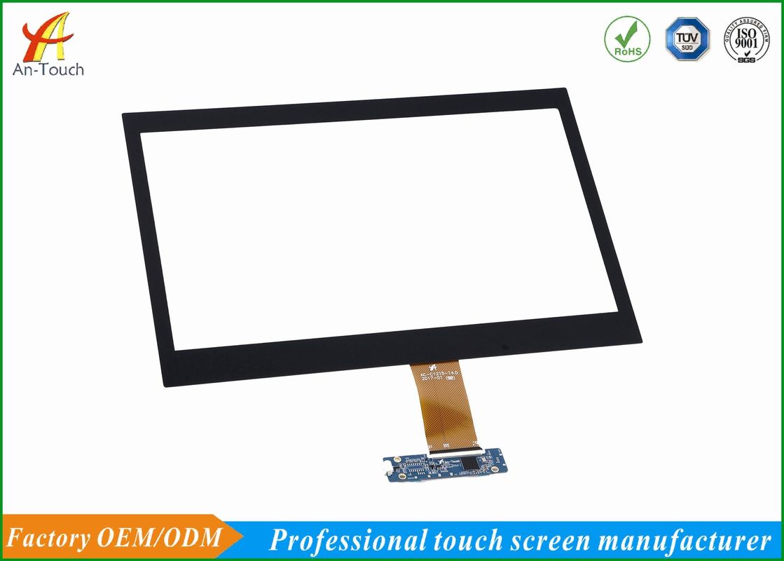 HD Capacitive Touch Overlay Screen Panel 14.0 Inch GG Structure For Smart Home