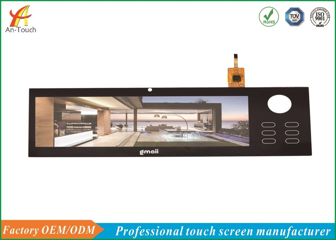 Explosion Proof Smart Home Touch Panel 8 Inch For Android Linux Operating System