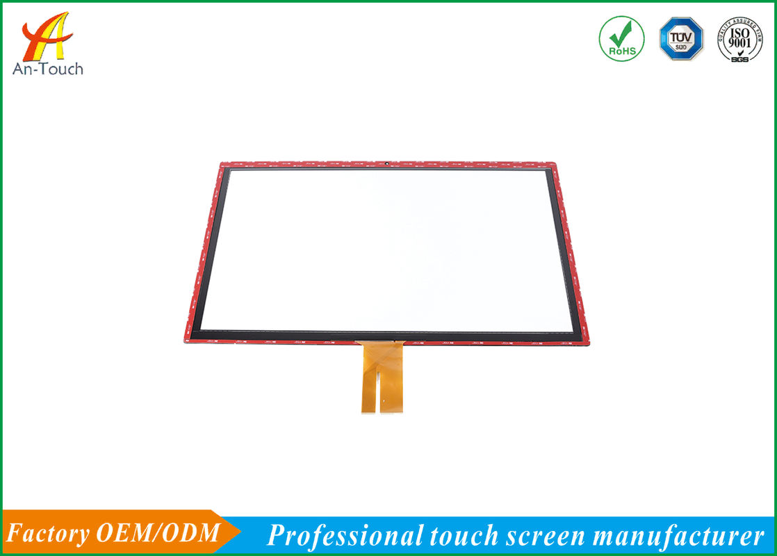Waterproof Self Capacitive Touch Screen / 32 Inch Transparent Touch Panel